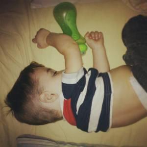 sleeping huck