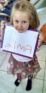alma name
