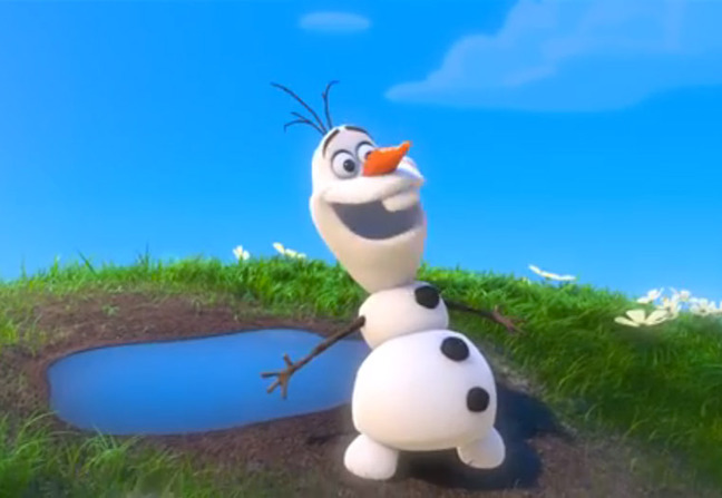 Olaf's Summer Sticker Spree Join Olaf on a fun-in-the-sun adventure, and build your own perfect Summer day! Play Game.