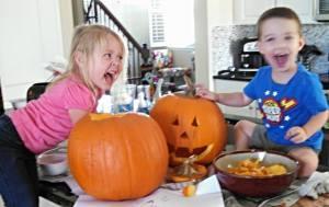 kids pumpkins