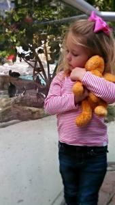 alma pouts bunny