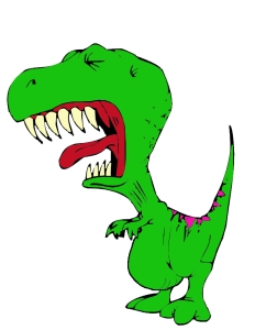 crying t-rex